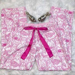 Victoria Secret Pink Printed Cotton Pajama Pants
